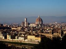 Панорама памятника Флоренции стоковое фото rf