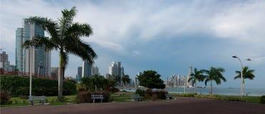 Панорама Панамы Стоковое фото RF