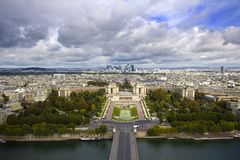 Панорама Парижа Стоковые Фотографии RF