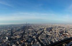 Панорама Парижа Стоковое Изображение RF