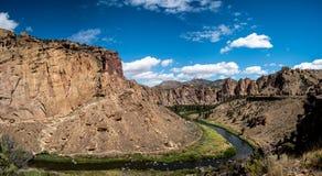 Панорама парка штата утеса Смита Стоковая Фотография RF