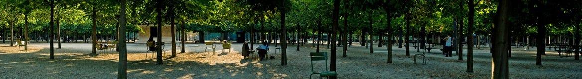 Панорама парка Стоковые Фотографии RF