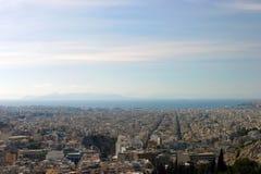 Панорама Пирейя Стоковые Фотографии RF