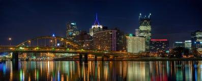 Панорама Питтсбурга стоковые фото