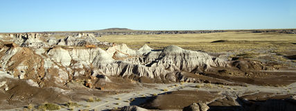 панорама покрашенная пустыней Стоковое Фото