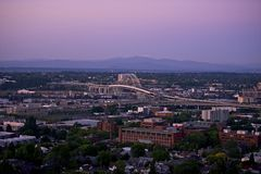 Панорама Портленда Стоковое фото RF