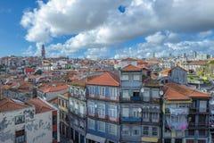 Панорама Порту, Португалии Стоковые Изображения