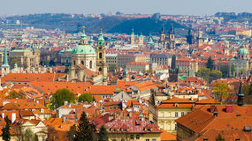 Панорама Прага Стоковое Фото
