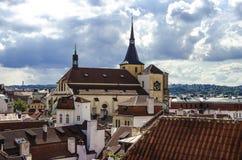 Панорама Праги Стоковые Фото