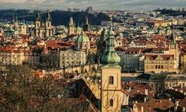 Панорама Праги стоковое фото
