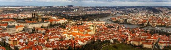 Панорама Праги стоковая фотография