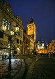 Панорама Праги стоковое изображение