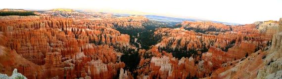 Панорама пункта воодушевленности каньона Bryce Стоковая Фотография RF