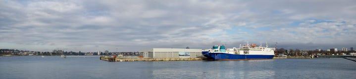 Панорама пункта Огдена, Виктории, ДО РОЖДЕСТВА ХРИСТОВА Канады Стоковое Изображение