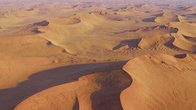 Панорама пустыни Sossusvlei видеоматериал