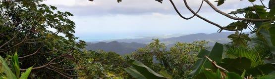 Панорама Пуэрто-Рико Стоковые Фотографии RF