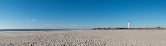 Панорама пляжа Стоковое Изображение RF