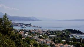 Панорама пляжей разделения Стоковое Изображение RF