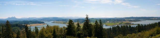 Панорама Рекы Колумбия Стоковое Изображение RF