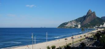 Панорама Рио Де Жанеиро Стоковые Изображения RF