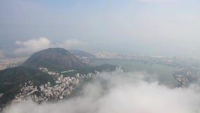 Панорама Рио-де-Жанейро сток-видео
