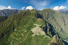 Панорама руин picchu machu Стоковое Изображение RF