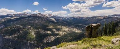 Панорама ряда сьерра-невады mountian Стоковые Фотографии RF