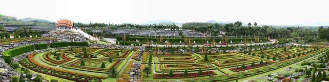 панорама сада Стоковое Фото