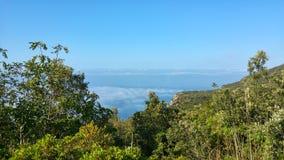 Панорама Сан Felice Circeo Стоковое Фото