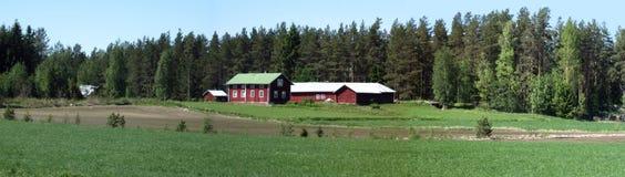 панорама сельской местности Стоковые Фото