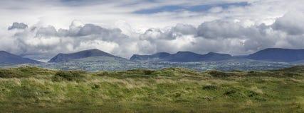 Панорама сельской местности Welsh Anglesey Уэльс Европа Стоковая Фотография