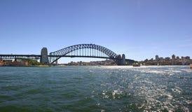 панорама Сидней гавани моста Австралии Стоковая Фотография