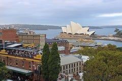 Панорама Сиднея, Австралии Стоковое Изображение RF