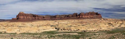 Панорама скалистого ландшафта Юты Стоковое Фото