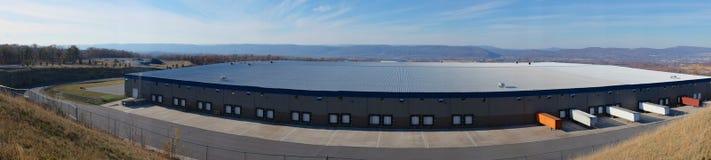 Панорама склада стоковые фото