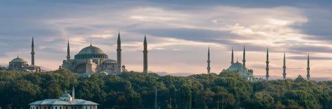 Панорама Стамбула стоковое фото