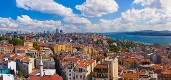 Панорама Стамбул Турции Стоковое Изображение
