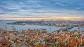 Панорама Стамбула Стоковое фото RF