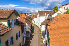 Панорама старого городка плохого Homburg Стоковое фото RF