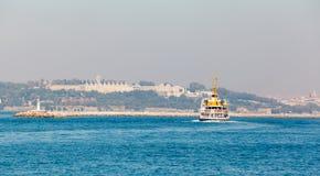 Панорама старых районов Стамбула Стоковое фото RF
