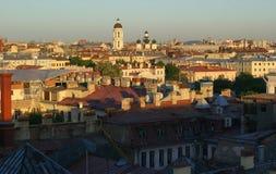 Панорама Ст Петерсбург. Россия Стоковая Фотография