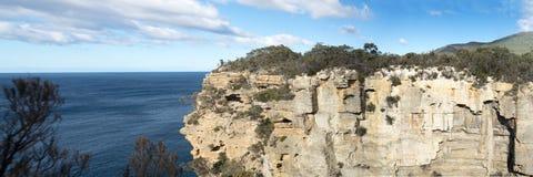 Панорама Тасмании бдительности кухни ` s дьявола Стоковое фото RF
