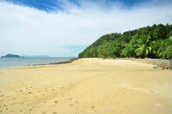Панорама тропического пляжа Стоковые Фото