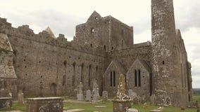Панорама утеса Cashel, Ирландии видеоматериал