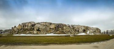 Панорама ущелий Dobrogea Стоковое Фото