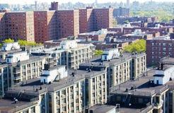 Панорама ферзей Нью-Йорка вида с воздуха Стоковое Изображение