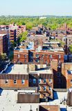 Панорама ферзей Нью-Йорка вида с воздуха Стоковые Изображения