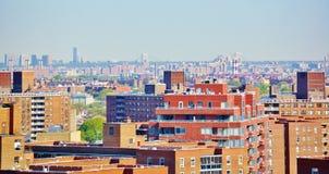 Панорама ферзей Нью-Йорка вида с воздуха Стоковая Фотография RF