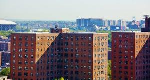 Панорама ферзей Нью-Йорка вида с воздуха Стоковые Фотографии RF