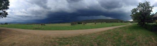 Панорама шторма стоковые изображения rf